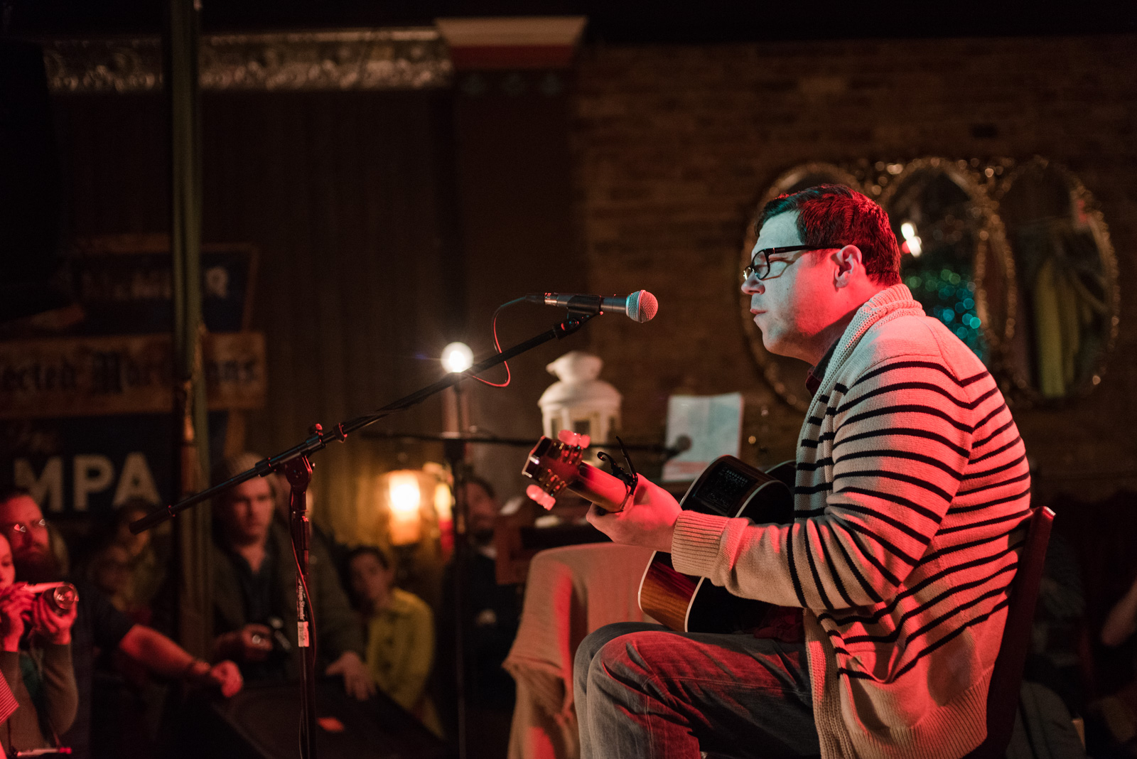 Damien Jurado at Velour on 1/27/2016