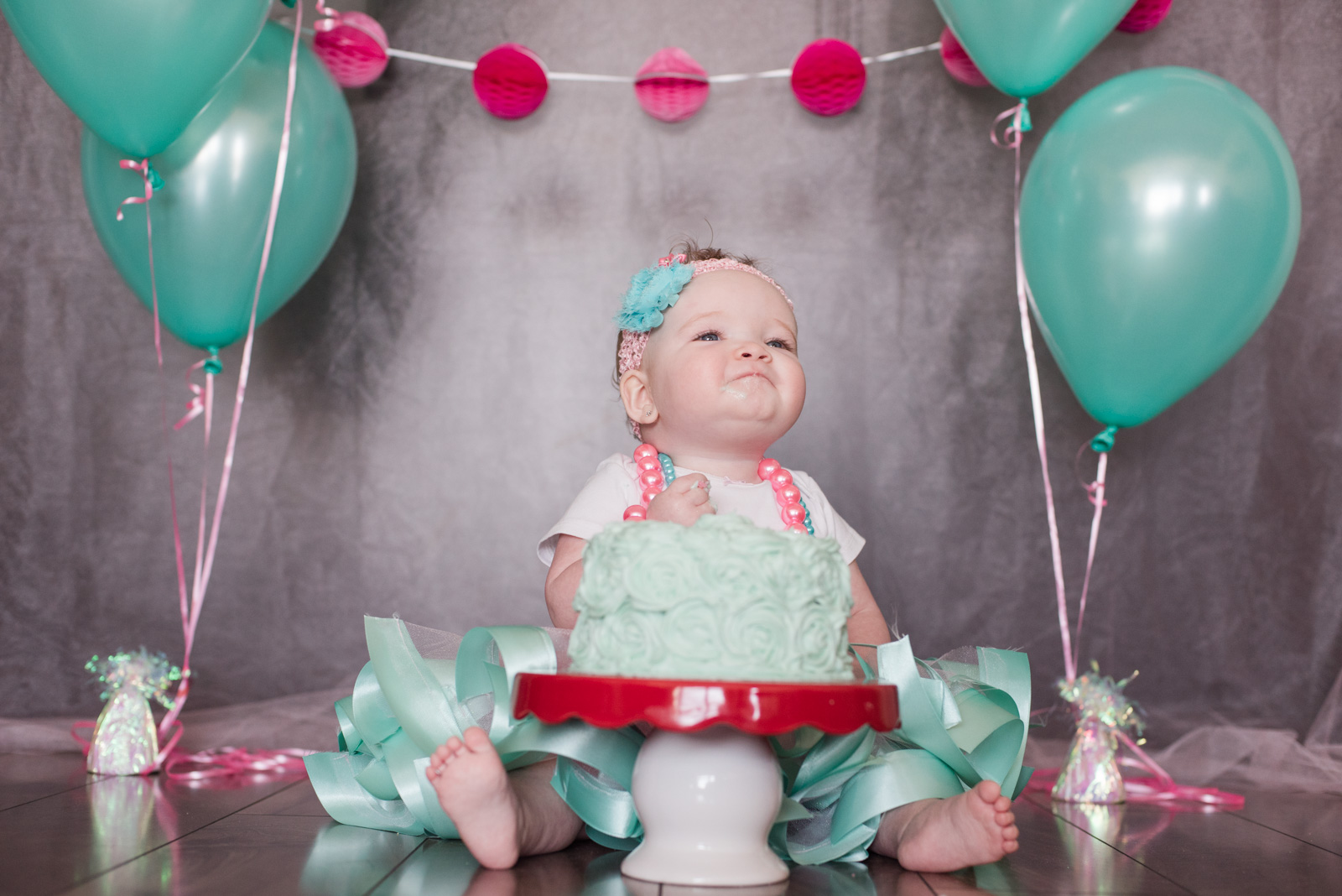 Baby Kennedy's 1 Year Old Cake Smash